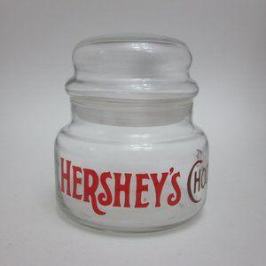 Hershey's Chocolate jar
